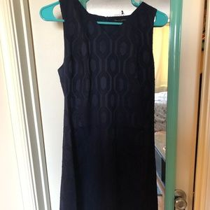 Never worn navy Banana Republic dress